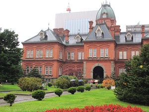 Sapporo former government building. Image: Japan Visitor