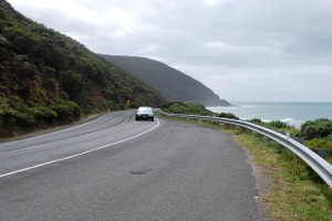 The Great Ocean Road, in Victoria, has a speed limit of 80km/h, which many people think is too high.